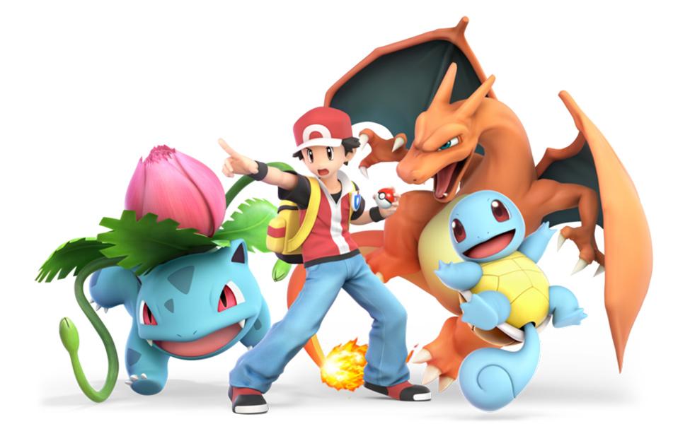 Pokémon Trainer from Super Smash Bros. Ultimate