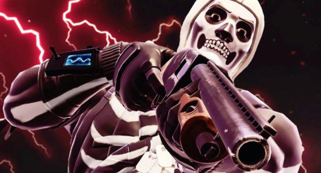 Skull Trooper from Fortnite