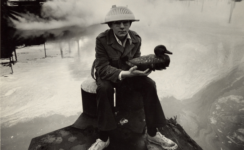 Boy with Duck Decoy
