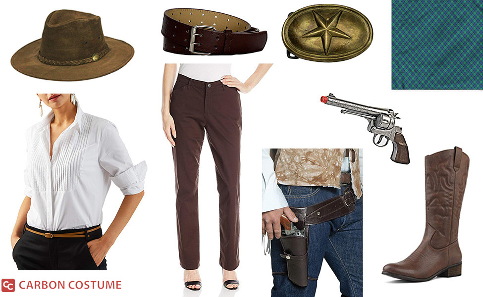 Sadie Adler from Red Dead Redemption 2 Costume