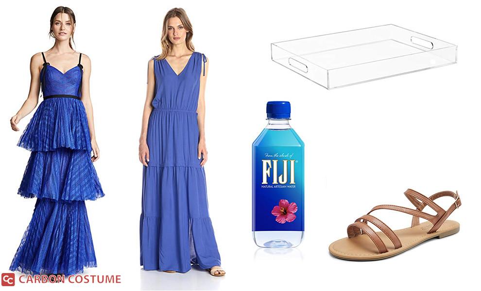 Fiji Water Girl Costume