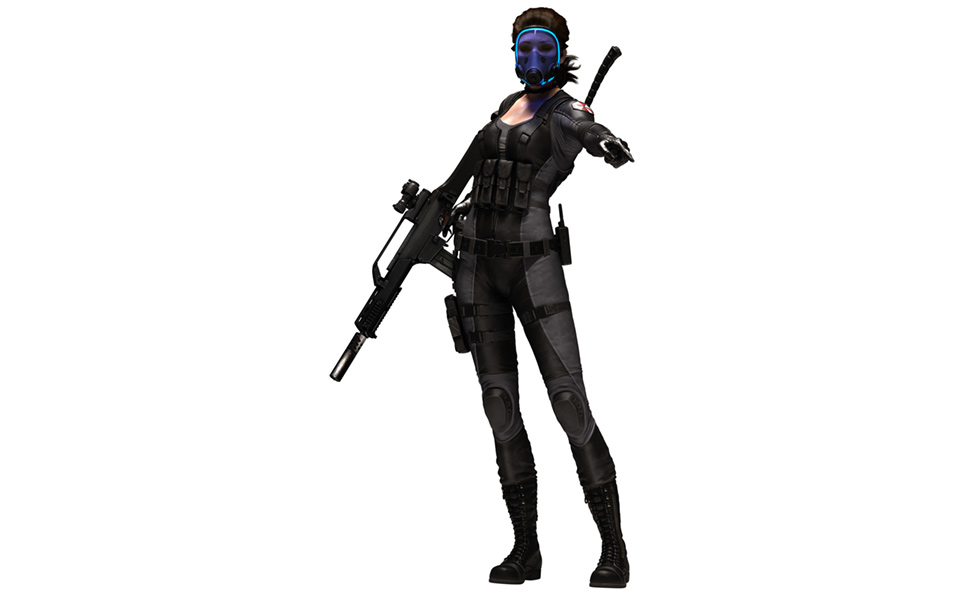 Lupo from Resident Evil