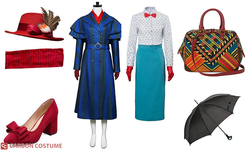 Mary Poppins from Mary Poppins Returns Costume