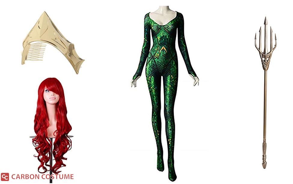 Mera from Aquaman Costume