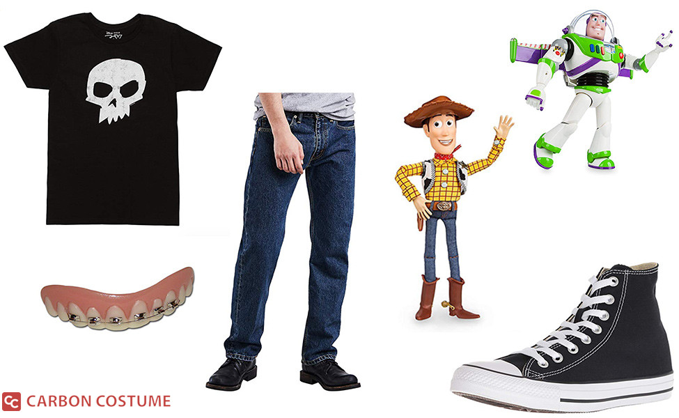 Sid from Toy Story Costume