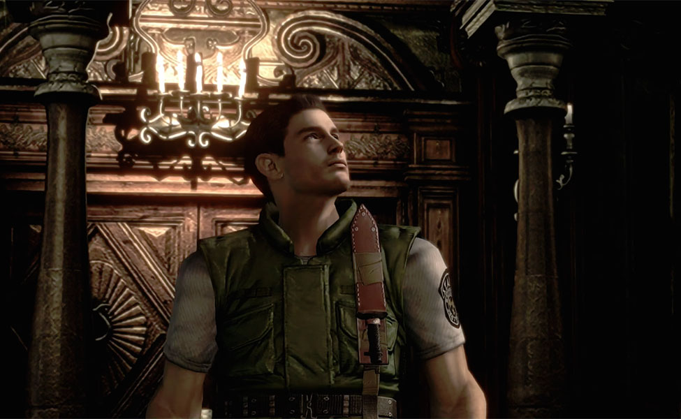 Chris Redfield from Resident Evil 1