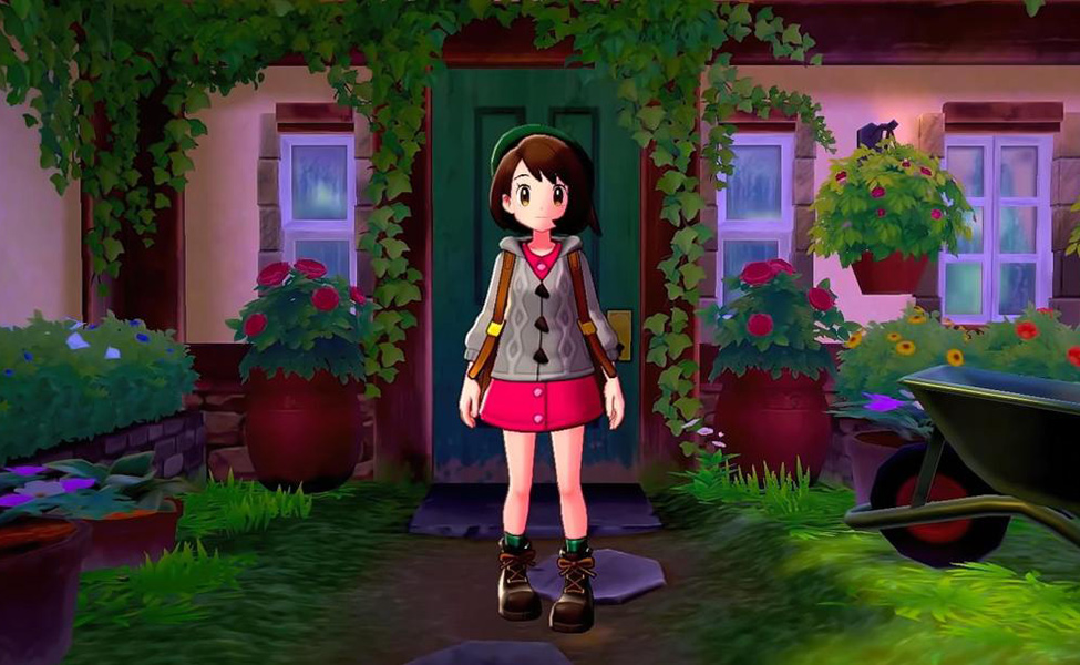 Scottish Female Trainer from Pokemon Sword and Shield
