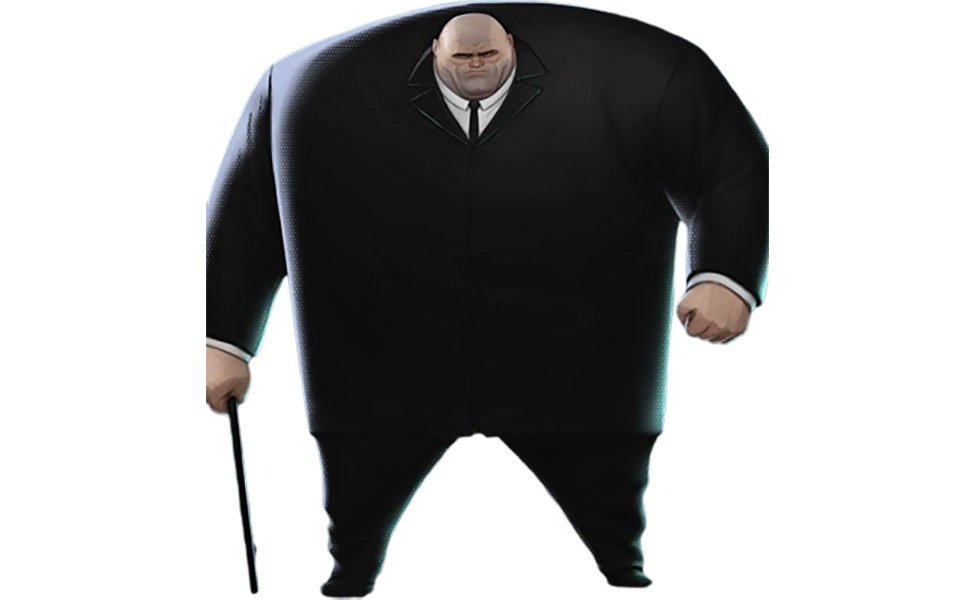 Kingpin from Into the Spider-Verse