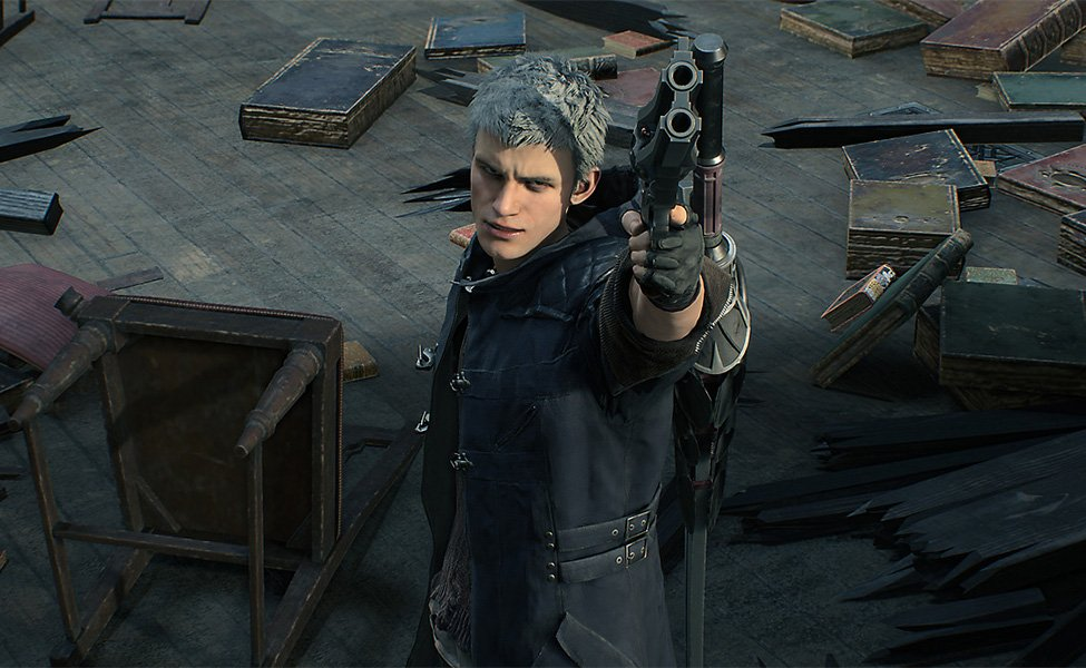 Nero from Devil May Cry 5