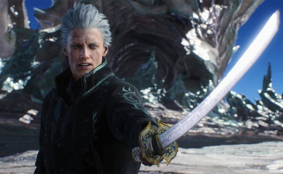 Vergil from Devil May Cry 5