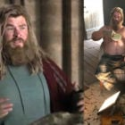 Drunk Thor from Avengers: Endgame