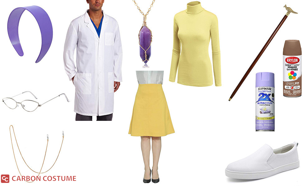 Professor Magnolia from Pokemon Sword and Shield Costume