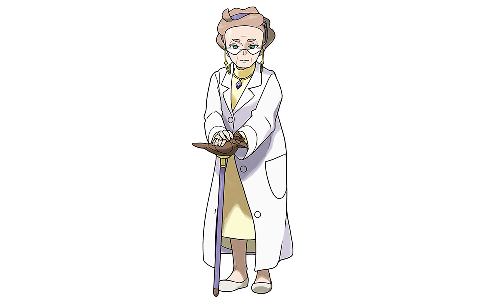 Professor Magnolia from Pokemon Sword and Shield