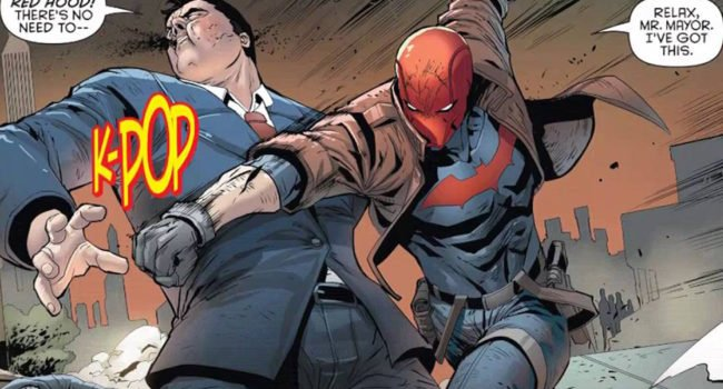 Red Hood Rebirth
