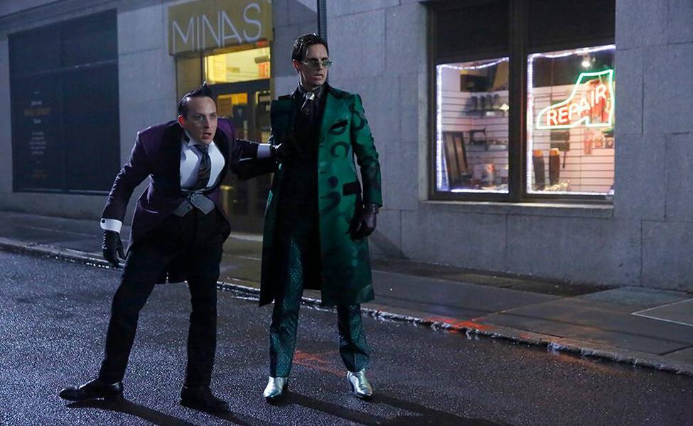 Riddler from Gotham