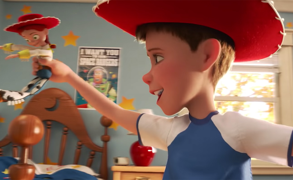 Andy from Toy Story 4