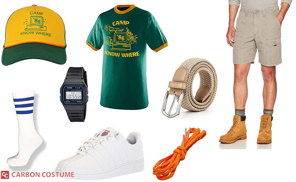 """""""Camp Know Where"""" Dustin Henderson from Stranger Things 3 Costume"""