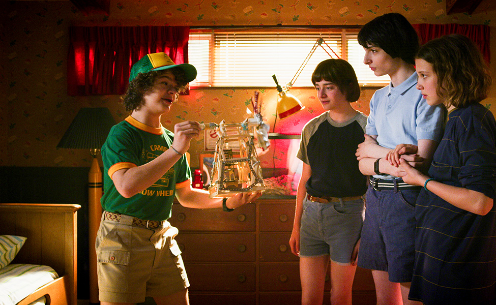 """""""Camp Know Where"""" Dustin Henderson from Stranger Things 3"""