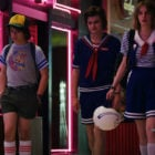 Scoops Ahoy Worker Steve and Robin from Stranger Things 3