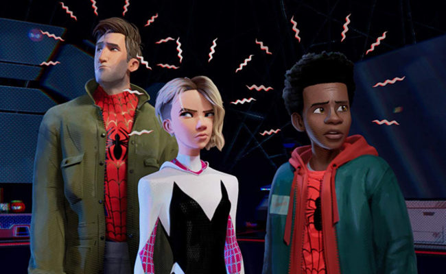 Miles Morales and Spider-Gwen