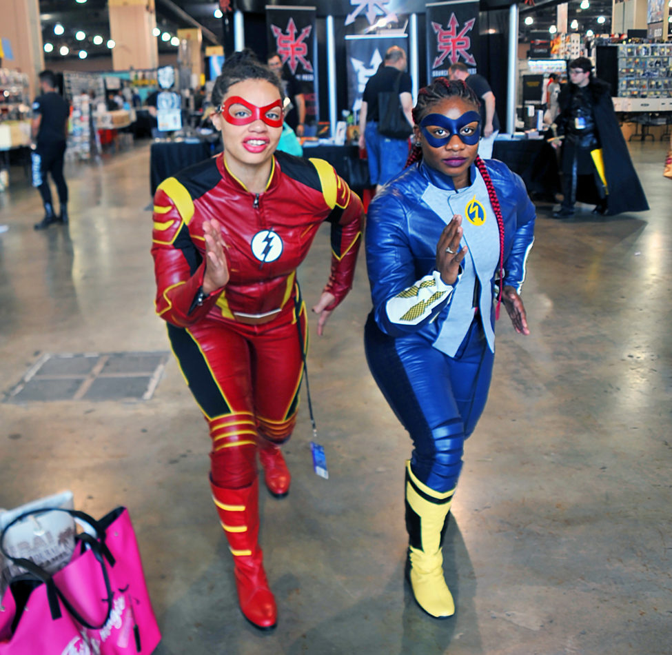 The Flash and Blue Flash