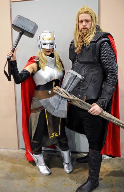 Original Thor and Jane Foster Female Thor