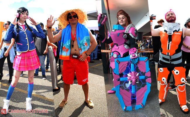 Cosplay at the Overwatch League Grand Finals 2019 in Philadelphia
