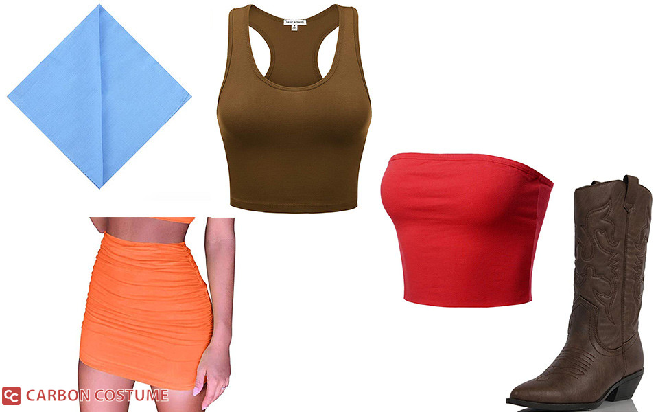Lindsay from Total Drama Island Costume