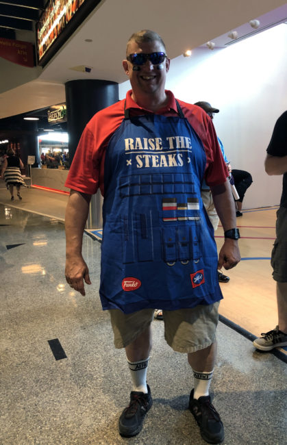 Grillmaster Dad Soldier:76 at the Overwatch League Grand Finals