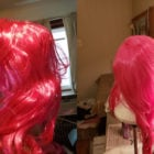 Cheap Wig: before and after