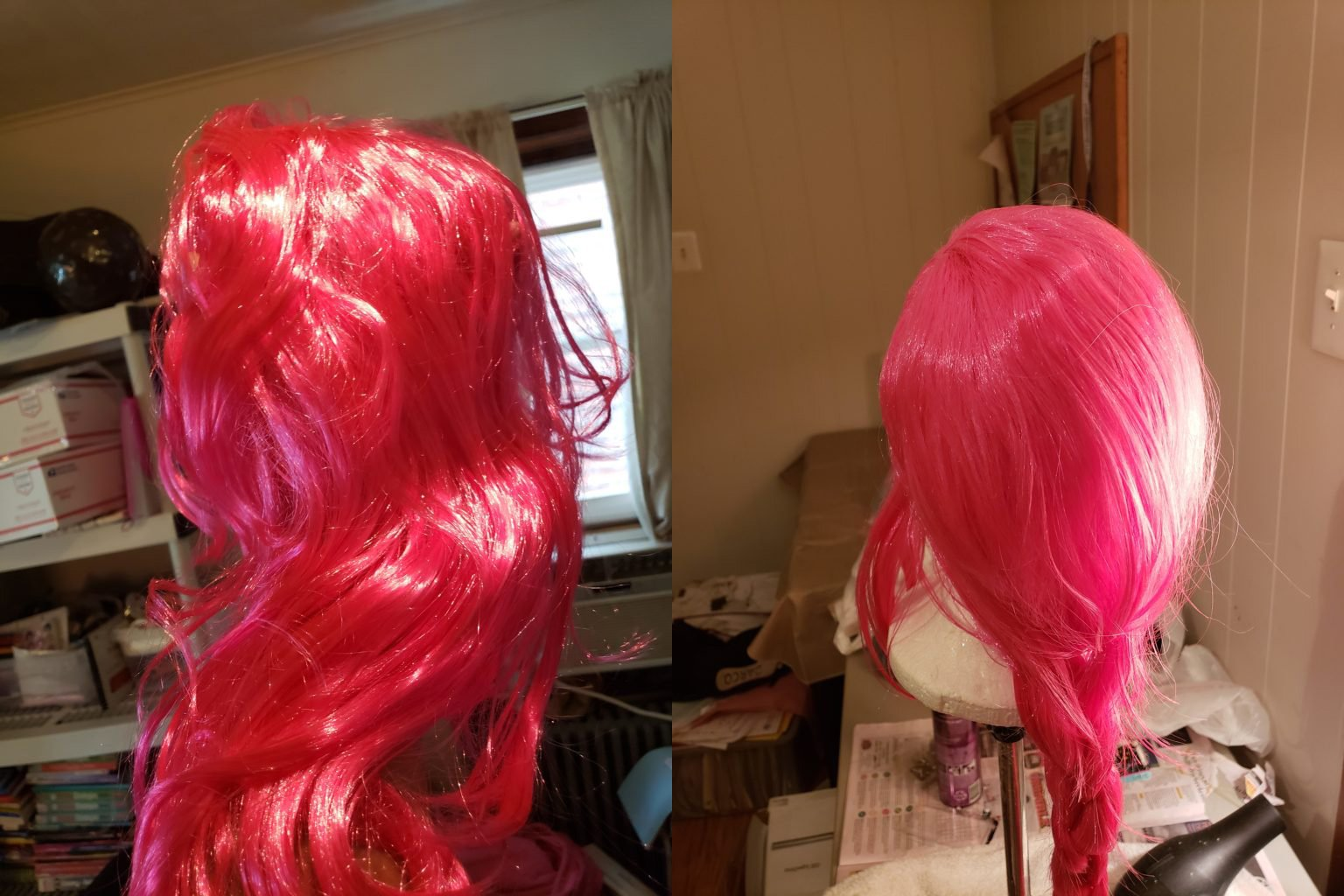 "How to ""Fix"" A Cheap Wig"