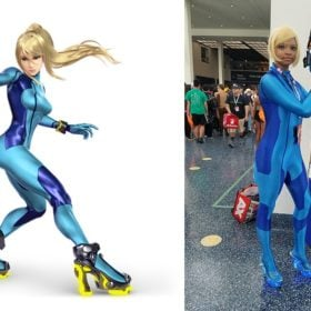 Make Your Own: Zero Suit Samus Rocket Heels