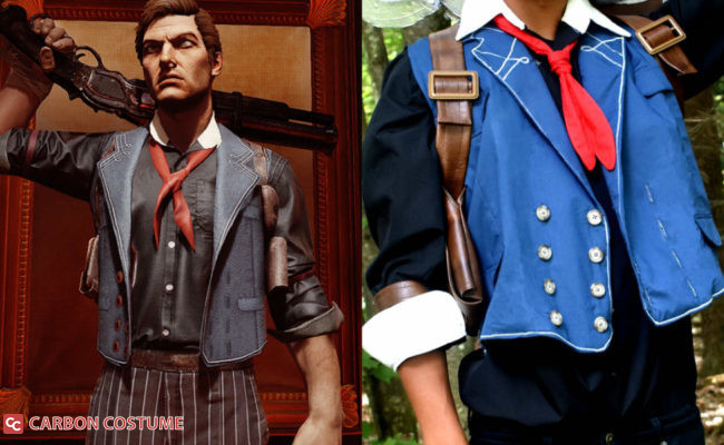 Booker DeWitt costume from Bioshock Infinite