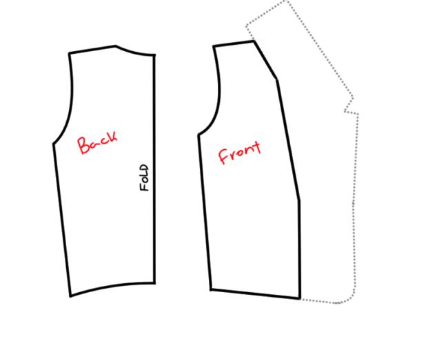 Booker DeWitt Vest Pattern 13