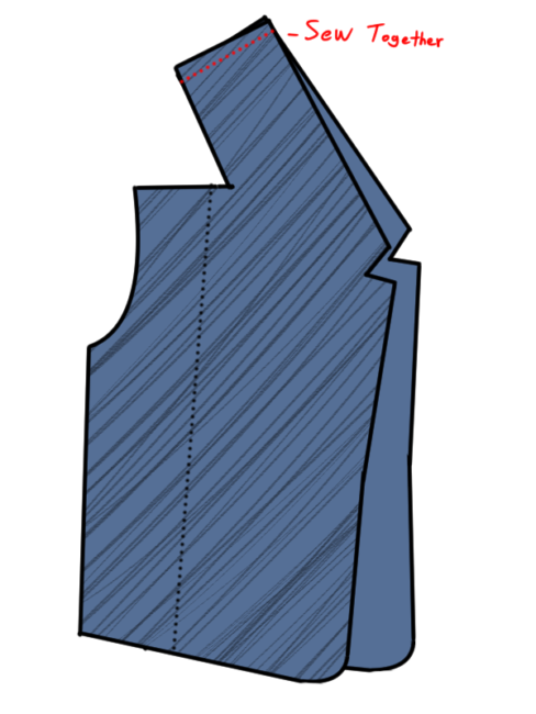 Booker DeWitt Vest Pattern 6