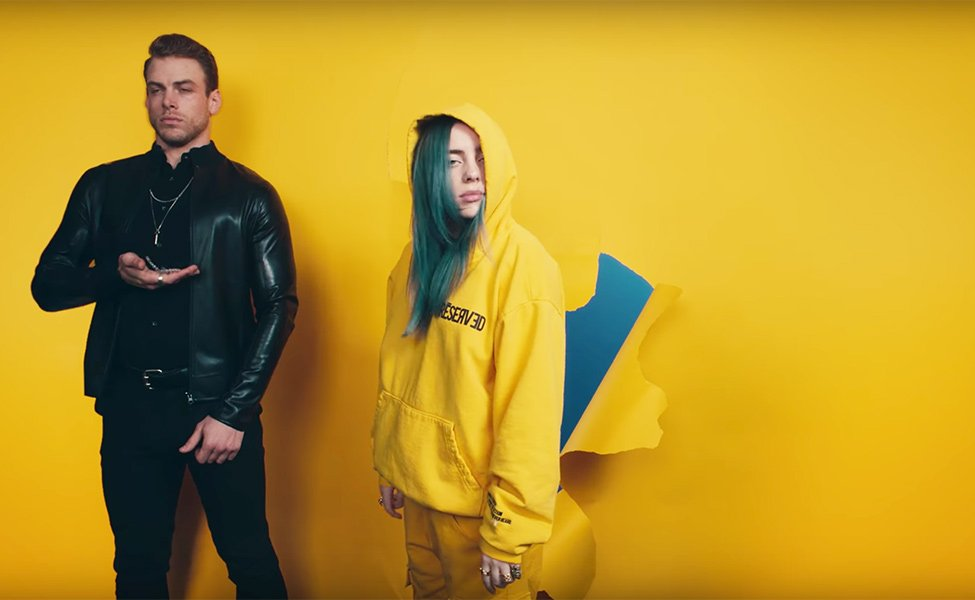 Billie Eilish Yellow Outfit from Bad Guy