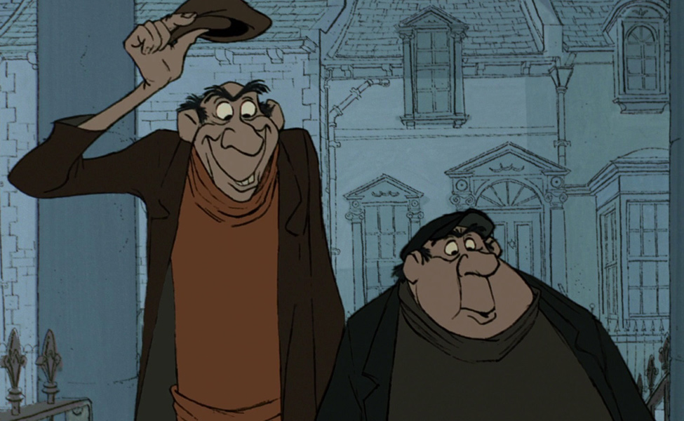 Jasper and Horace from 101 Dalmatians
