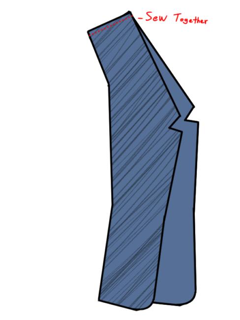 Booker DeWitt Vest Pattern 7
