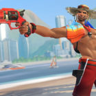 Lifeguard McCree from Overwatch