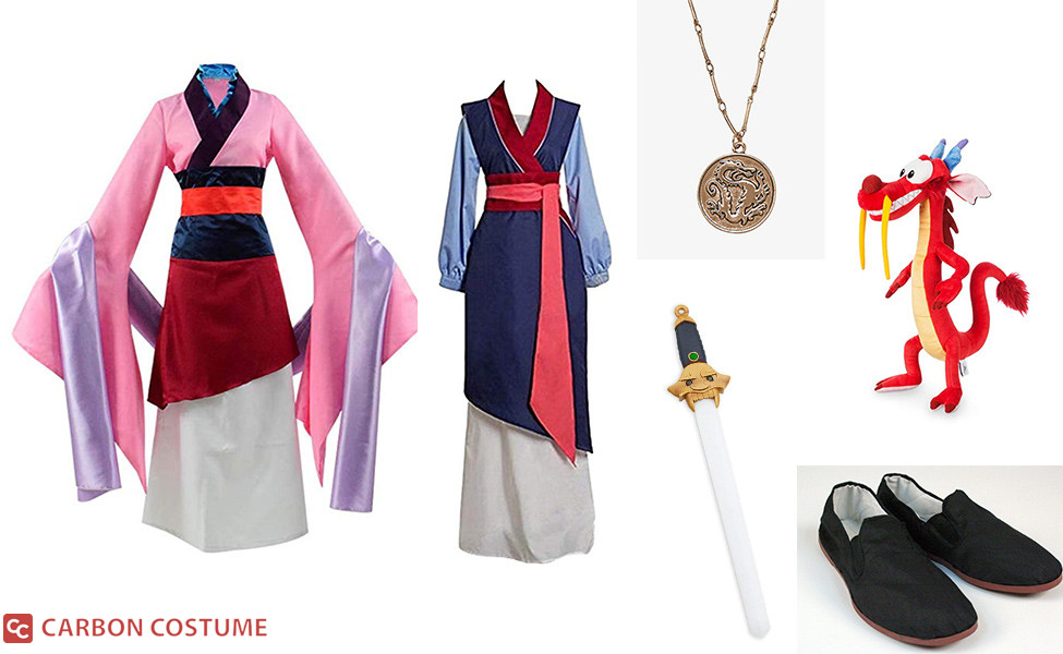 Mulan Costume Carbon Costume Diy Dress Up Guides For Cosplay Halloween