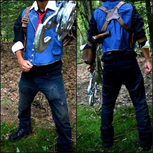 Booker DeWitt Cosplay Finished