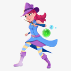 Stella from Bubble Witch Saga