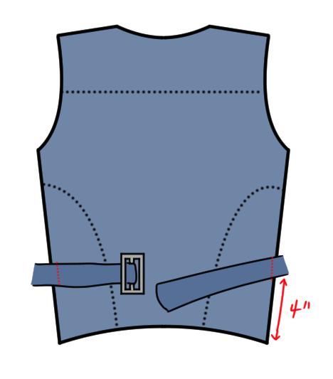 Booker DeWitt Vest Pattern 11