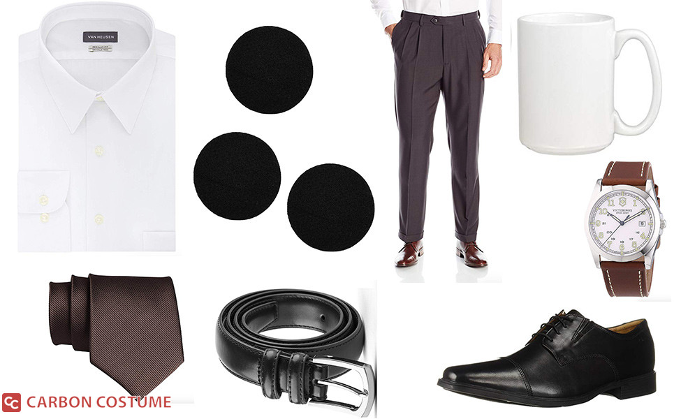 Three-Hole-Punch Jim Halpert Costume
