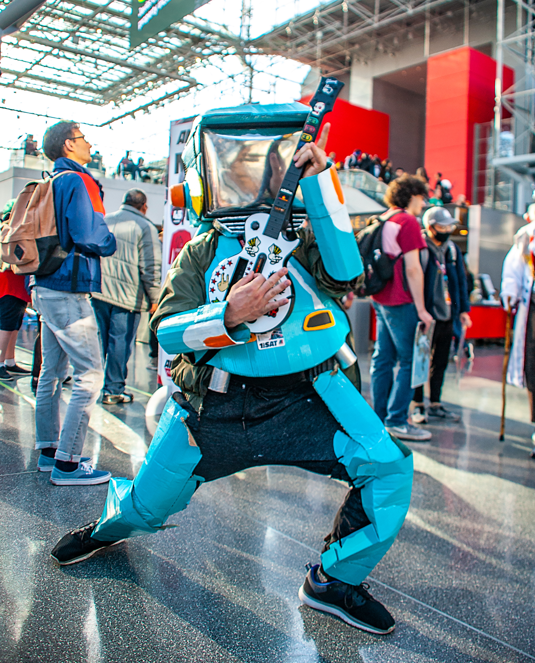 Canti Cosplay from FLCL by amateur3verything