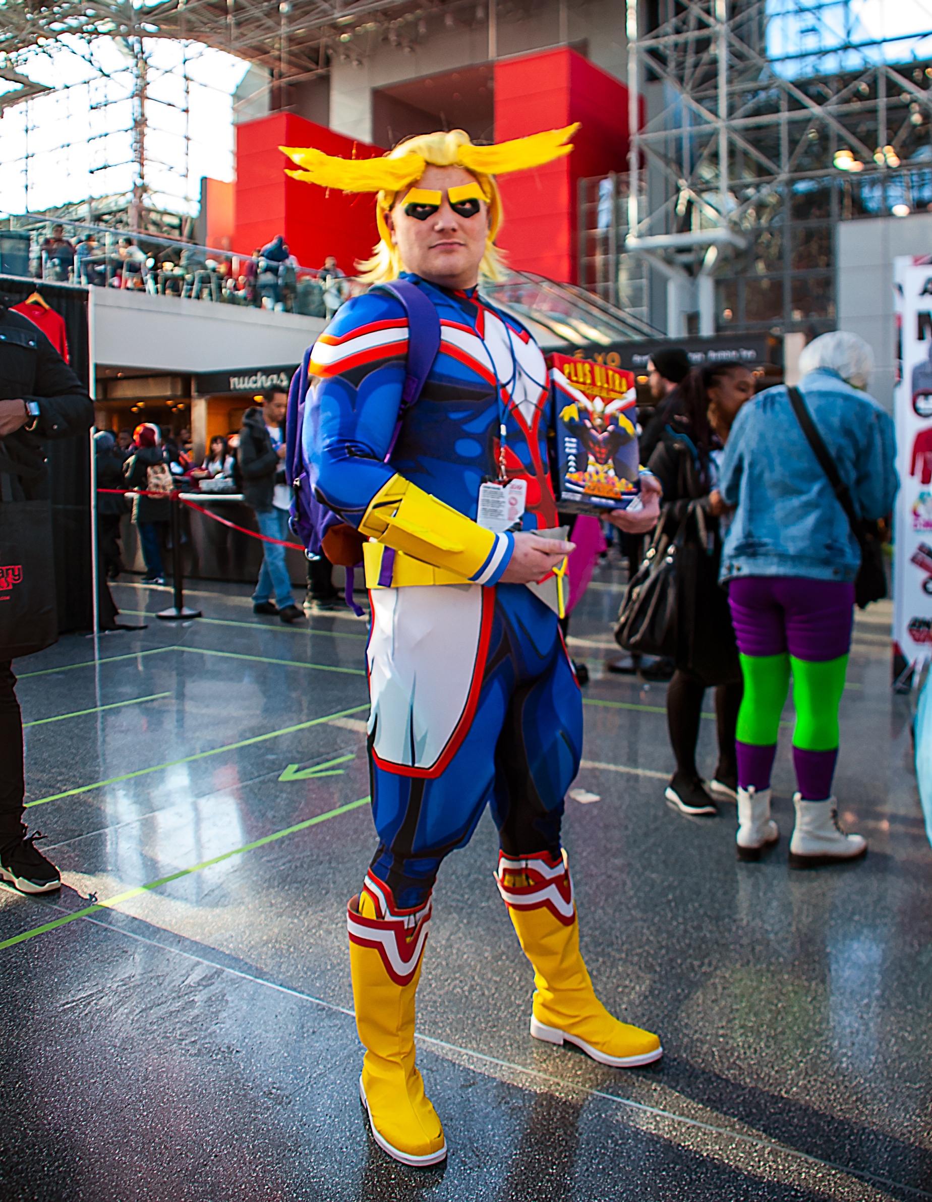 All Might Plus Ultra Cosplay from My Hero Academia