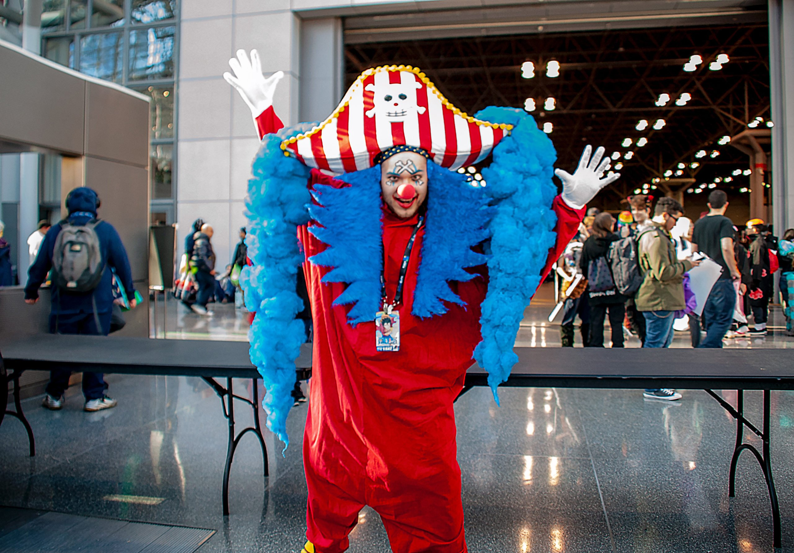 Buggy the Clown Cosplay from One Piece