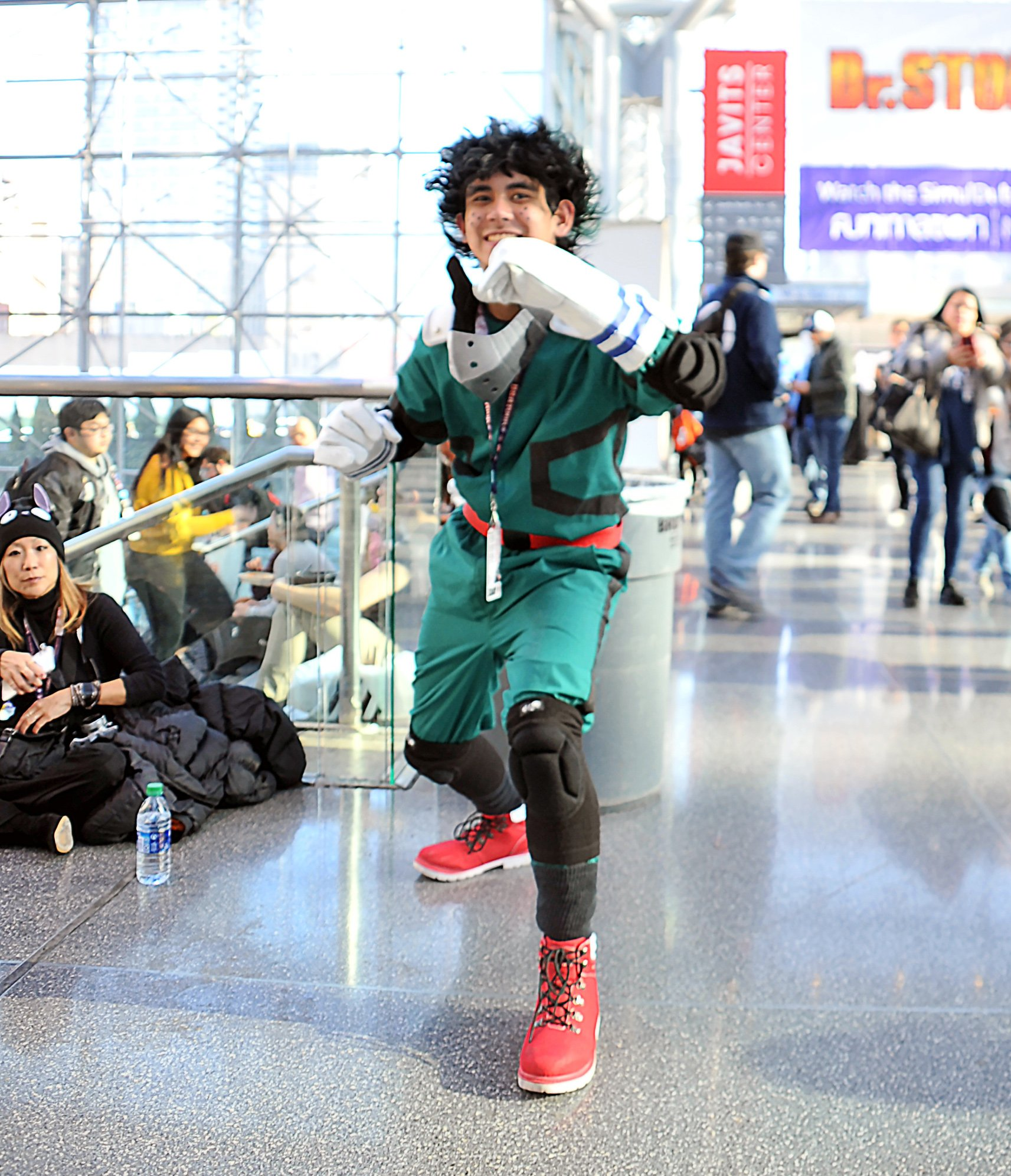 Deku Cosplay from My Hero Academia by vallerina
