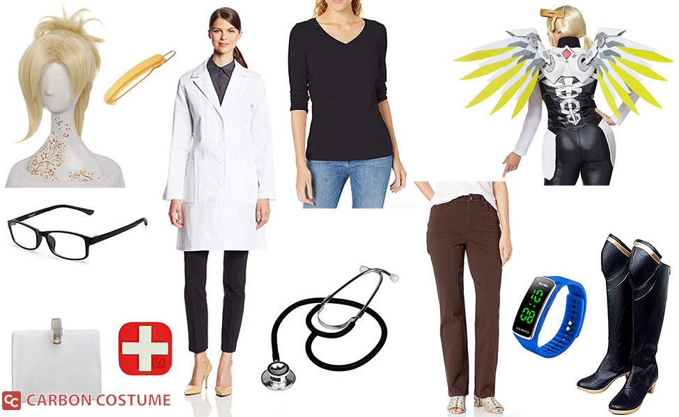 Dr. Angela Ziegler Mercy Costume
