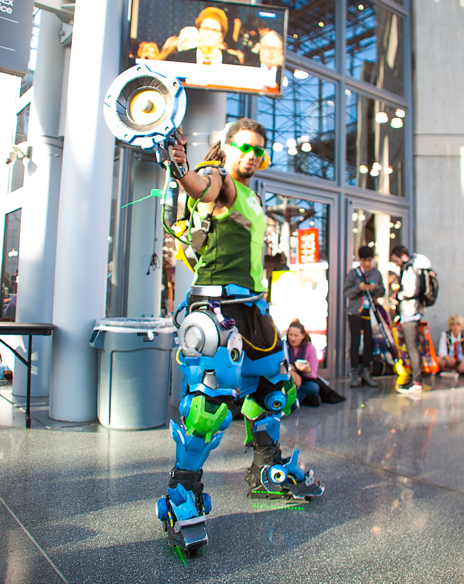 Lucio Cosplay from Overwatch by princeofthenutella